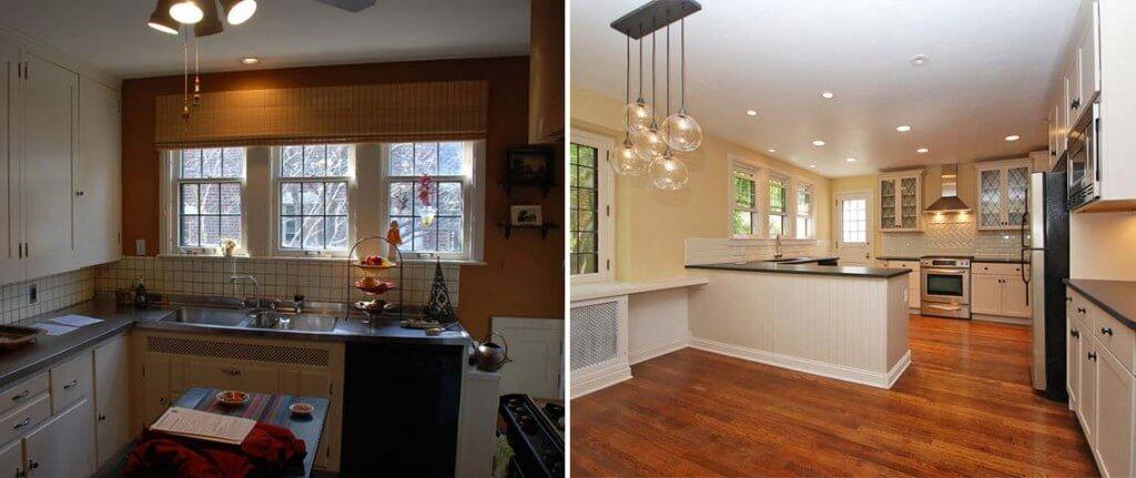 שיפוץ דירה קטנה לפני ואחרי