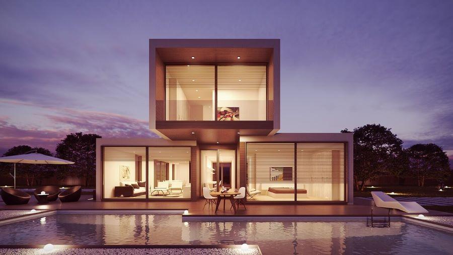 בית פרטי לאחר בניה