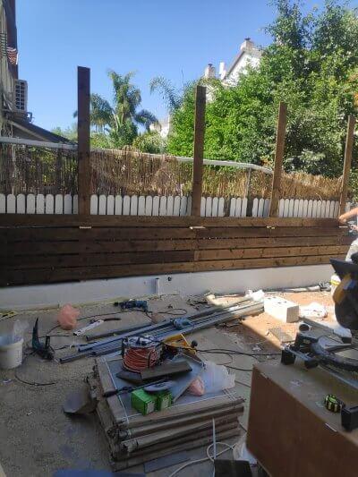 שיפוץ דירות כולל החצר