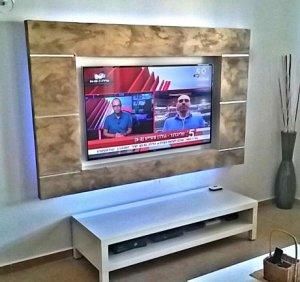 נישה מגבס לטלוויזיה