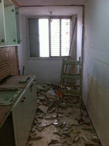 שיפוץ דירה ישנה שלב 2